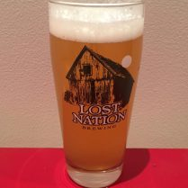 Lost Nation Pint Glass