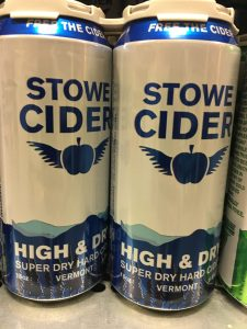 Stowe Cider High and Dry