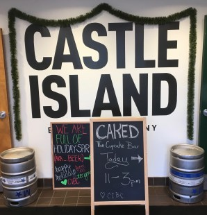 December 17, 2017 - Castle Island Brewing Company in Norwood, Massachusetts