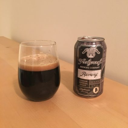 February 1, 2018 - Revery from Highway Foolproof Brewing Company taken in Newton, Massachusetts