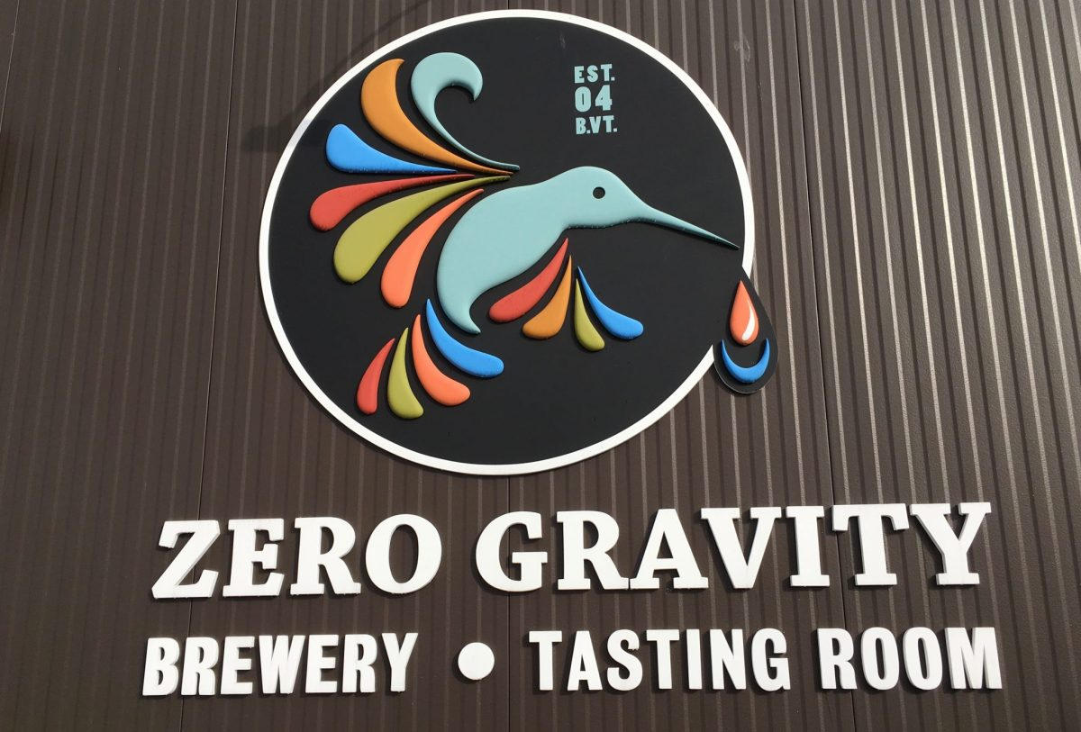 Floating in Zero Gravity Brewery