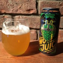 January 27, 2018 - Two Juicy from Two Roads Brewing Company taken in Stowe, Vermont