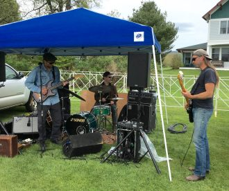 May 19, 2018 - Music at Stowe Craft Brew Races in Stowe, Vermont
