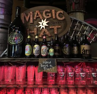 May 27, 2018 - Magic Hat Brewing Company in Burlington, Vermont
