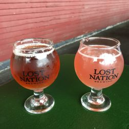 2018 - Second samples at Lost Nation Brewing in Morrisville