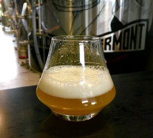 June 23, 2018 - Crusher sample at The Alchemist Brewery in Stowe, Vermont
