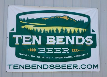 June 30, 2018 - Ten Bends Beer in Hyde Park, Vermont