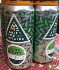 July 28, 2018 - Cans of Side Business from Green Empire Brewing in Colchester, Vermont