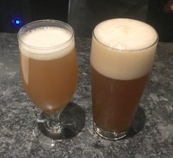 November 1, 2018 - More samples from Trillium Brewing Company in Boston, Massachusetts