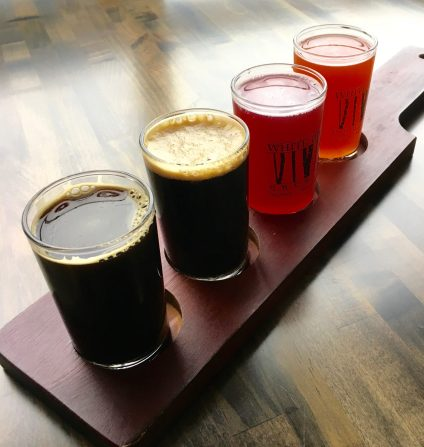 November 9, 2018 - Samples at White Birch Brewing in Nassua, New Hampshire
