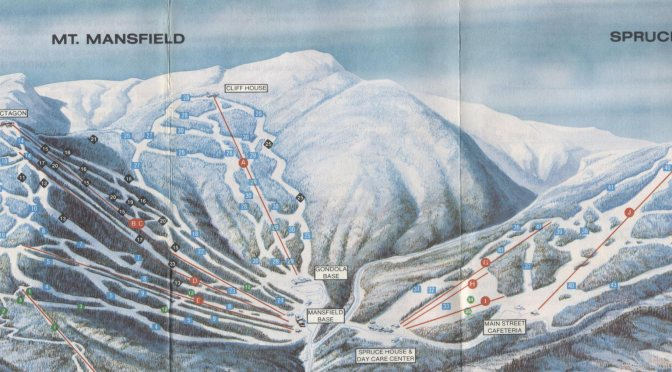 Classic Stowe Trail Maps