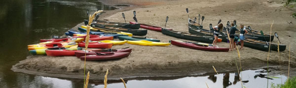 Canoe & Kayaking Escapes on the Lamoille
