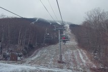Still some snowmaking to do here...