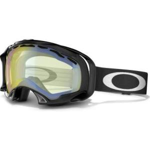 Oakley's High Intensity Yellow lens was designed for the low light conditions we regularly experience in Stowe. Mirrored lenses may look cool, but they only come out a few days a year in Stowe.