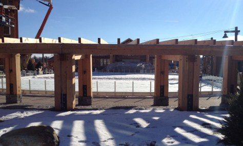 The new skating rink at Spruce opens on December 19th!