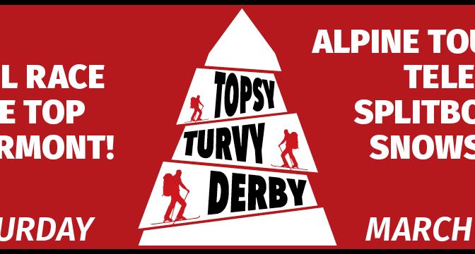Topsy Turvy Derby