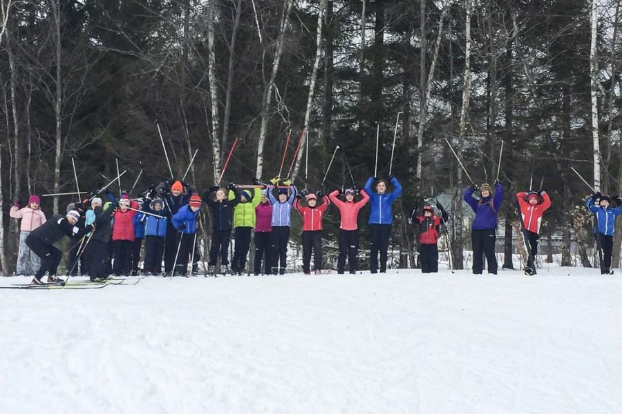 BKL skiers group photo