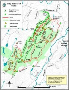 Cross Country ski map
