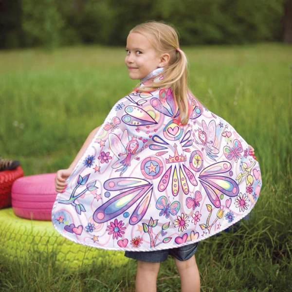 reusable coloring cape