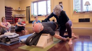Group Yoga Therapy at Stow Fitness Center