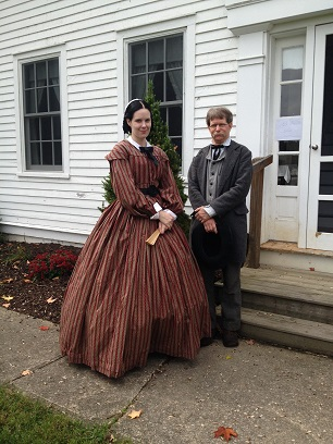 Ohio Living History members at Heritage House Museum