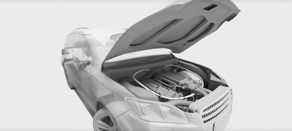 """Σύστημα κατάσβεσης αυτοκινήτου """"BlazeCut"""""""