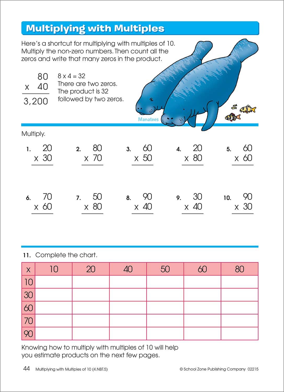 3rd 4th Grade Workbook