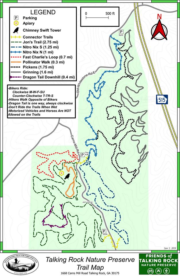 trnp trail map 4 19