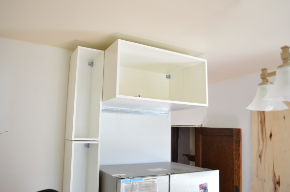cabinet fridge surround
