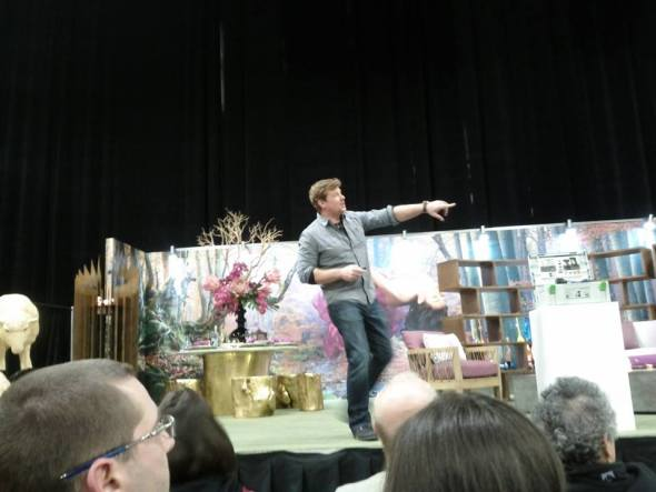 kevin oconner at minneapolis home and garden show