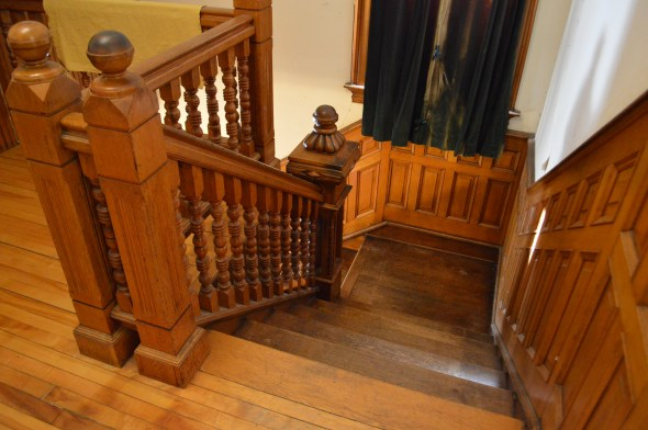woodwork staircase