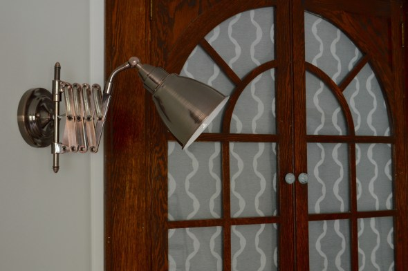 accordian sconce