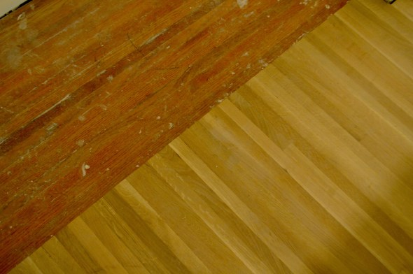 hardwood floor transition