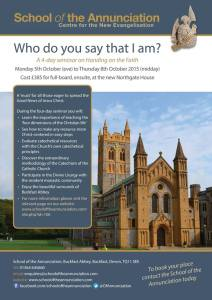 Who do you say that I am poster