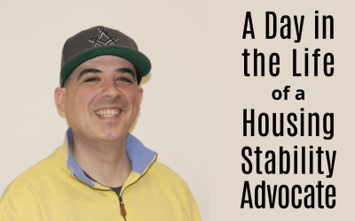 A Day in the Life: Jason Chaplin, Housing Stability Advocate