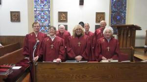 New Choir Robes Nov 29