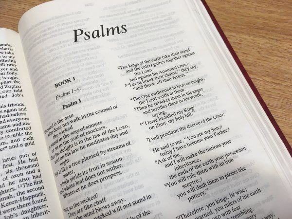 6.30pm - Favourite Psalms 2 (Psalm 45) Image