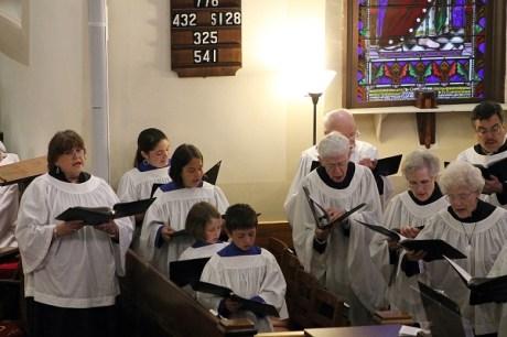 music -choir 4st