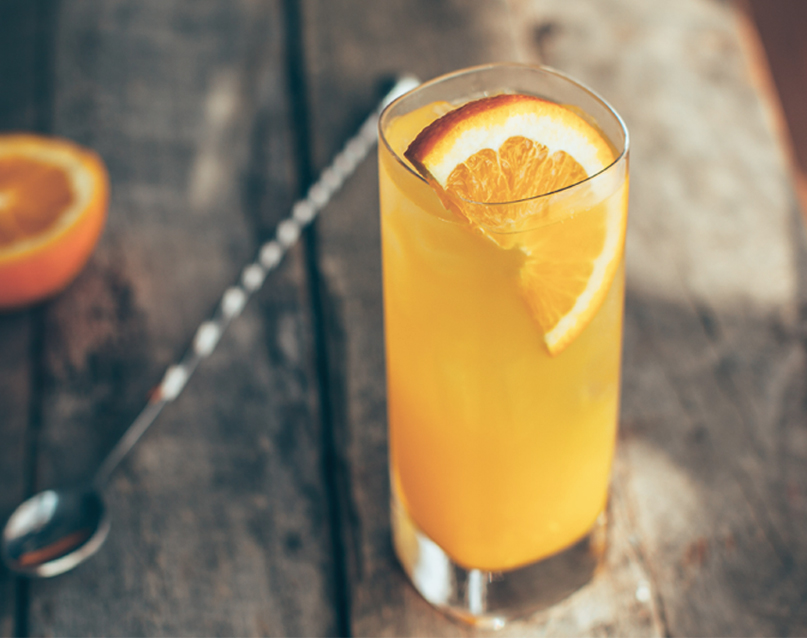 Craft Cocktail - Harvey Wallbanger - Drink Photo