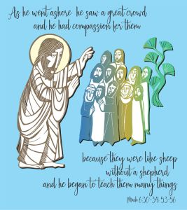 Eighth  Sunday after Pentecost, Holy Eucharist, Rite II, July 18, 2021 10:30am