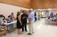 People visit at Job Fair