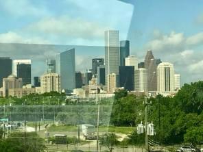 Arriving in Houston