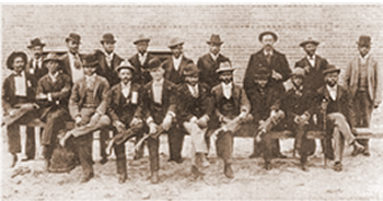 Feature here: A Few of the St. Philip's Church Bricklayers