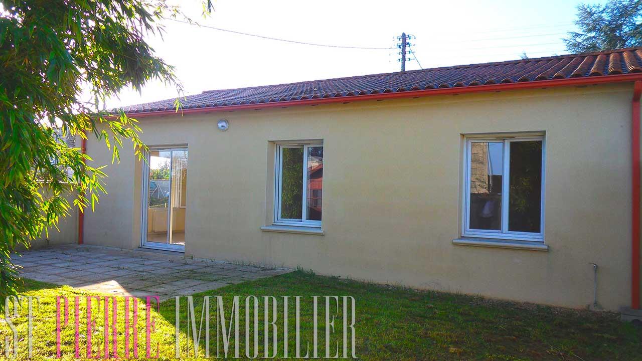 En vente maison de plein pied niort pavillon neuf st for Avril immobilier