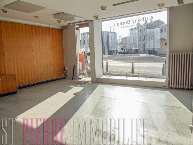 immeuble rapport avenue paris niort local commercial