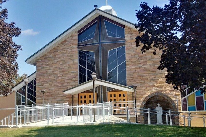 St. Pius Exterior Daytime