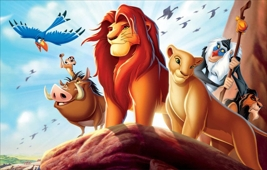 THE LION KING (1994) - at the BECU Drive-in Movies at Marymoor Park