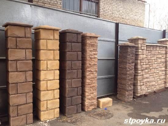 Декоративні блоки для стовпів огорожі