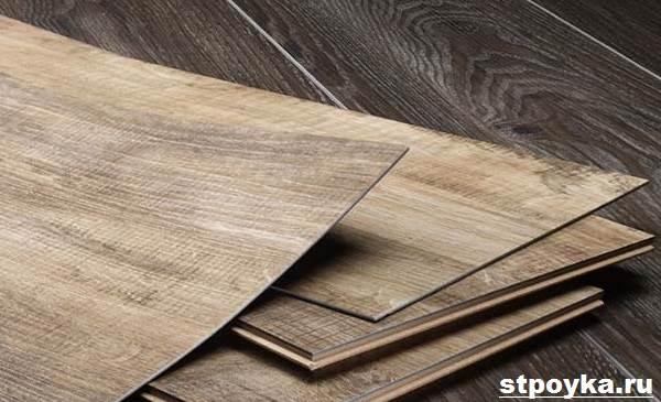 Кварцвініловая плитка. Опис, особливості, види та застосування кварцвиниловой плитки