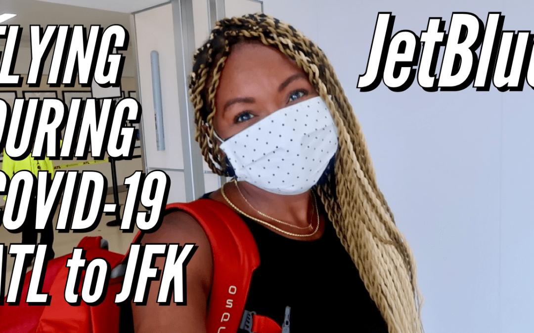 Flying from Atlanta (ATL) to New York City (JFK) on JetBlue